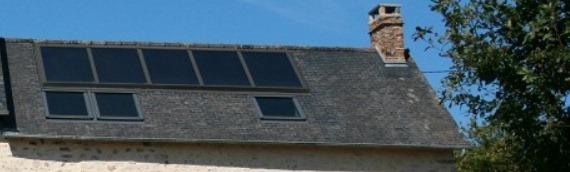 le solaire thermique ecolodge la belle verte. Black Bedroom Furniture Sets. Home Design Ideas