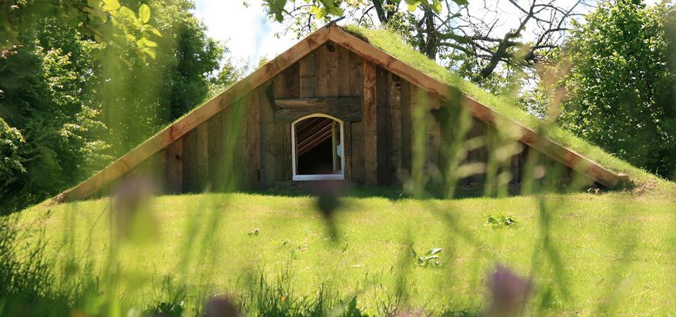 Cabane insolite écoligique en Bretagne
