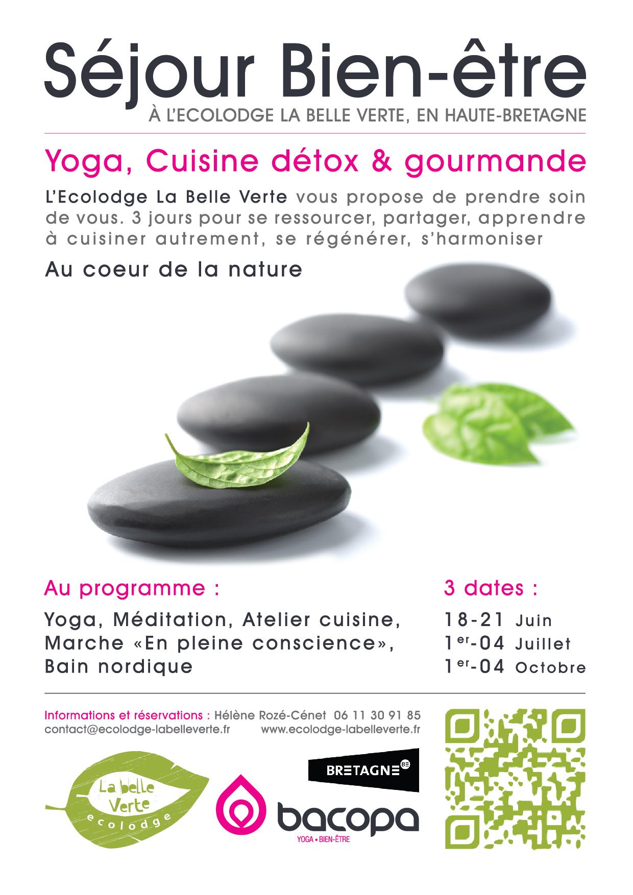 S jour bien tre yoga cuisine d tox et gourmande for Livre cuisine detox