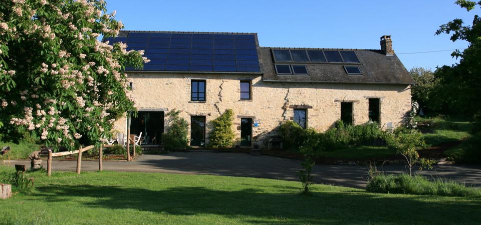 Ecological Lodge In France Brittany Ecolodge La Belle Verte