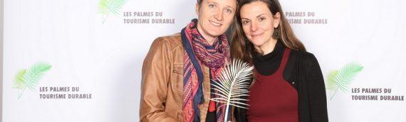 L'Ecolodge La belle Verte a remporté les 1ères palmes du tourisme durable à Paris !