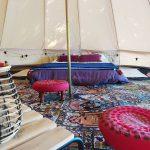 intérieur tente sibley